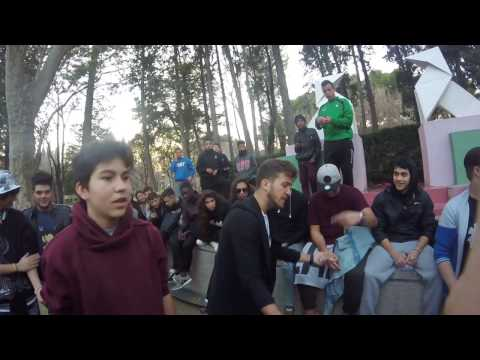 ALJ & GONZA VS G-SEN & GELLA - DOMINGUERA DUAL BATTLE - CUARTOS