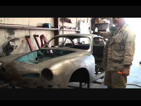 "Automobile Restoration-How To Prep Your ""Bare Metal"" Car For Epoxy Primer-Part 1"