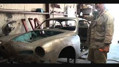 """Automobile Restoration-How To Prep Your """"Bare Metal"""" Car For Epoxy Primer-Part 1"""