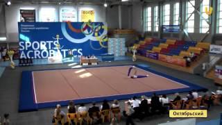 U News  Соревнования по фитнес аэробике и спортивной акробатике прошли в Уфе и Октябрьском(, 2012-10-16T04:39:20.000Z)