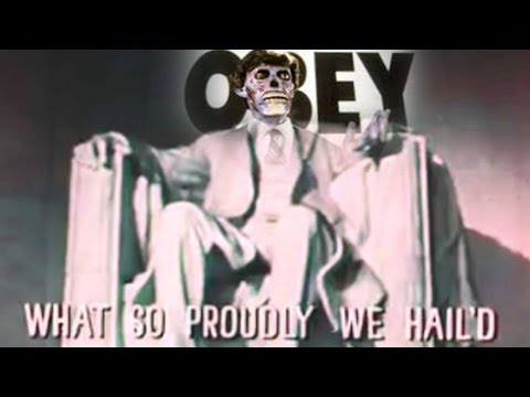 1960s Government Subliminal National Anthem Video — It's THEY LIVE!