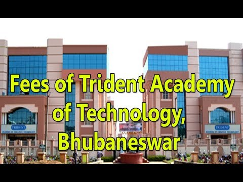 FEES STRUCTURE OF TRIDENT ACADEMY OF TECHNOLOGY,BHUBANESWAR