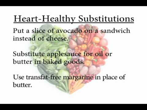 Eat Healthy For Your Heart Recipe Substitutions
