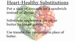 Eat Healthy For Your Heart - Recipe Substitutions