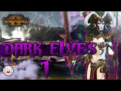 Total War Warhammer 2 - Dark Elves - Morathi - 1
