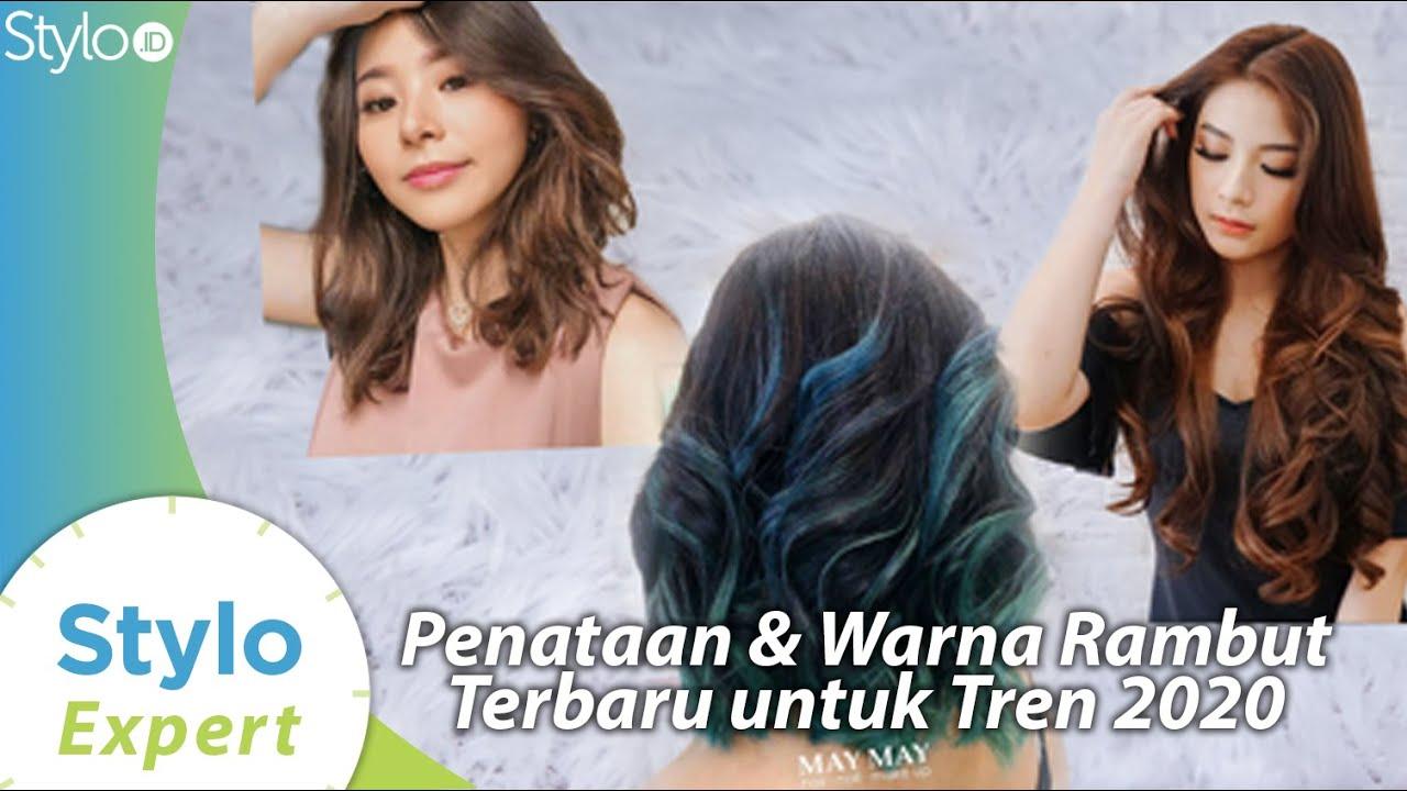 Warna Rambut Model Potongan Terbaru Yang Jadi Tren Rambut 2020 Di Salon Indonesia Stylo Id Youtube