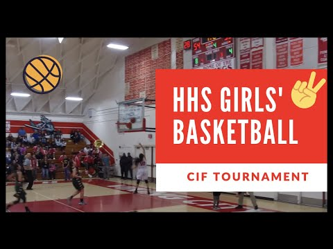 Hueneme High School Girls Basketball Game