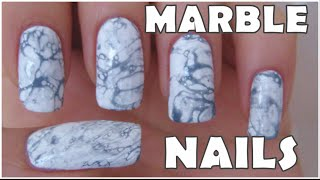 Marble Nails/Water Nail Art/ Мраморные ногти/ Водный маникюр