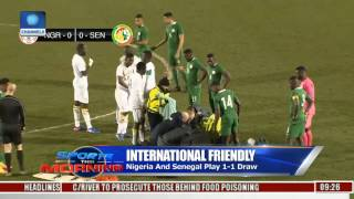 Sports This Morning: Nigeria And Senegal Play 1 - 1 Draw -- Highlights
