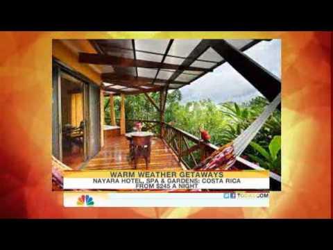 TODAY Show Warm Weather Getaways   Nayara Hotel, Spa U0026 Gardens: Costa Rica