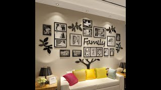 Unboxing Family Tree Photo Frame   Making Beautiful Wall Hanging Decor with My Family Photos screenshot 1