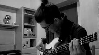 The Smiths - Cemetry Gates (bass cover)