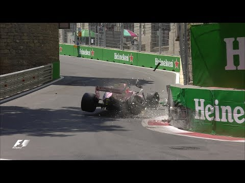 2017 Azerbaijan Grand Prix | FP1 Highlights