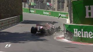 2017 Azerbaijan Grand Prix | FP1 Highlights