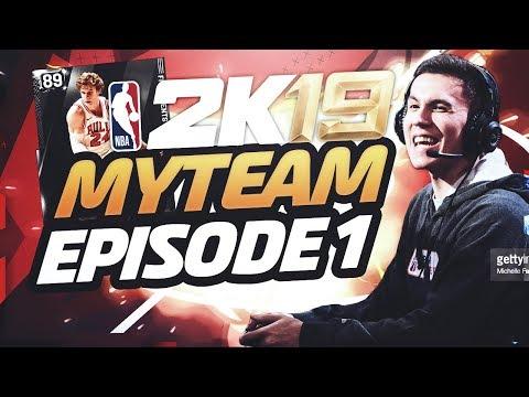 NBA 2K19 MyTEAM EP. 1! BEST STARTER PACK, PRE-ORDER PACKS, & LEAGUE PACK OPENING! 2K19 My TEAM!