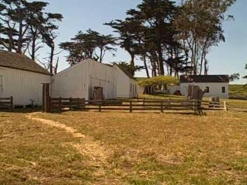 Historic Point Pierce Dairy Ranch in Point Reyes National Seashore, California