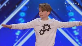 "KID DANCES TO ""GUCCI GANG"" AND ""GUMMO"" LIVE ON AGT"