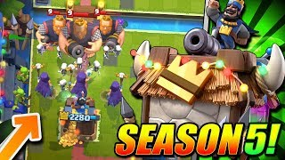 *NEW!* SEASON 5 UPDATE GAMEPLAY!! NEW BALANCE & SKIN & MORE!!