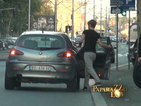 Susret Rade i Milana posle devet meseci - Paparazzo lov - (Tv Pink)
