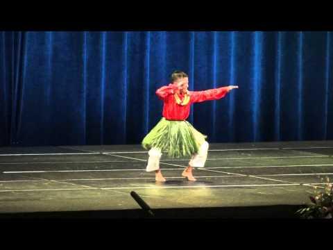2015 Master Keiki Hula - Inoalani Aloiau  (Hana Hou Performance)