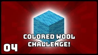 Colored Wool Challenge! | E04 | Minecraft: The Challenge Series