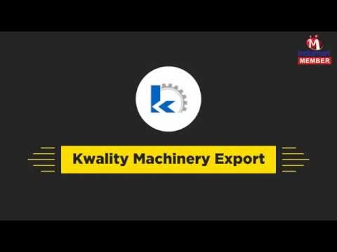 Industrial Machines by Kwality Machinery Export, Ludhiana