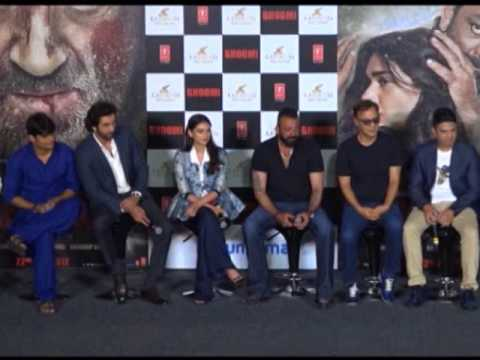 Bollywood actors promote upcoming revenge drama in Mumbai