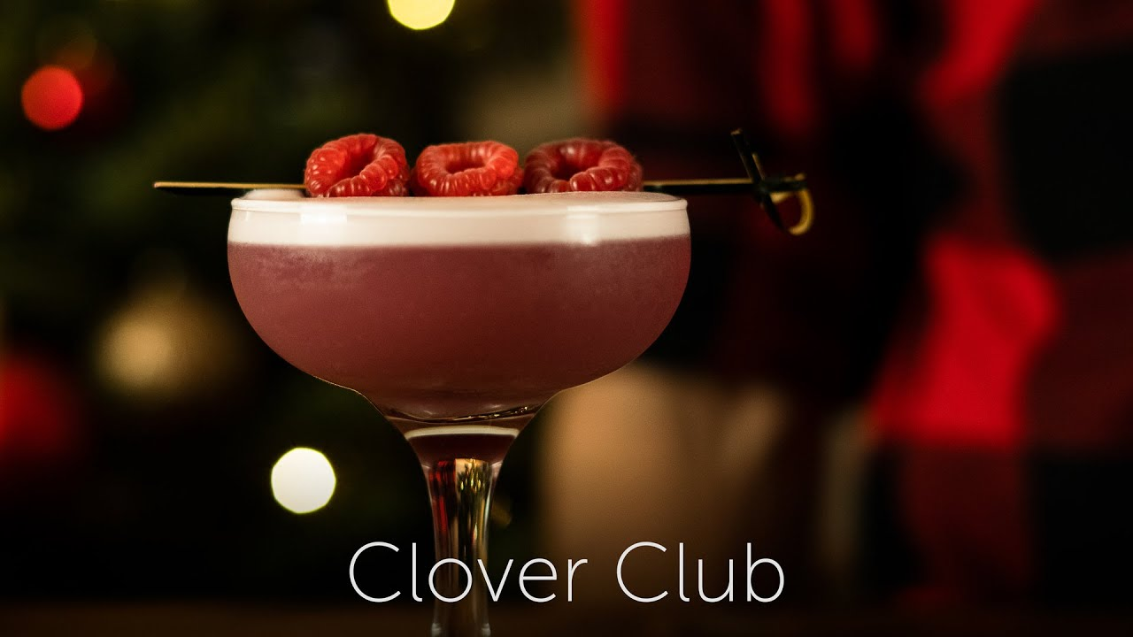 Clover Club | 12 Days of Cocktails - Day 04