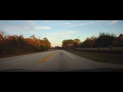 Driving Around North Fort Myers And Fort Myers Shores, Florida