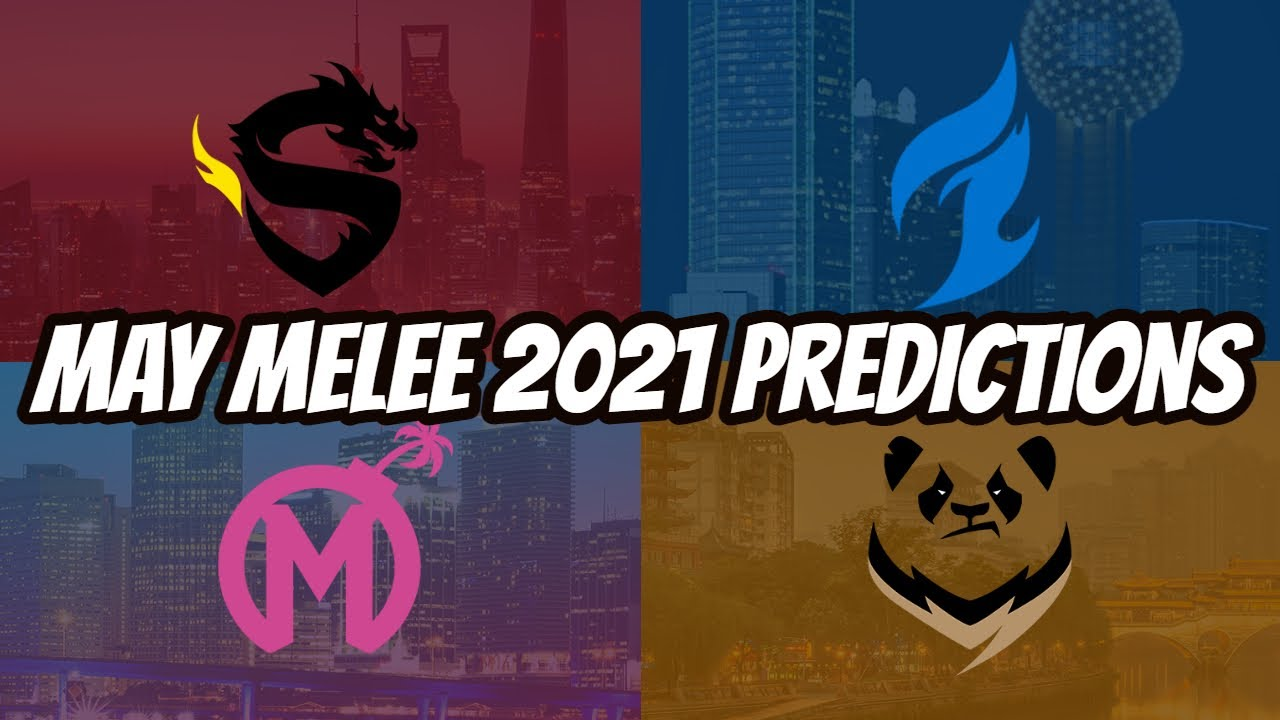Overwatch League 2021 May Melee Predictions