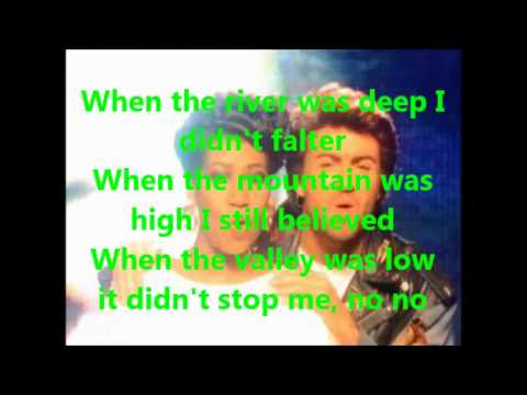 George Michael & Aretha Franklin-I knew you were waiting for me (lyrics)
