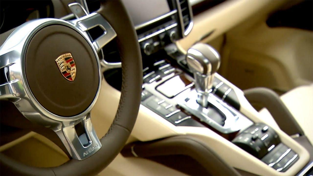 2013 Porsche Cayenne S Diesel INTERIOR HD YouTube