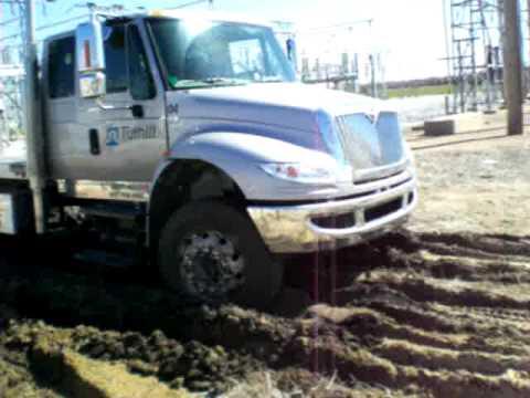 Hydraulic powered 4wheel drive for heavy duty trucks  EZ Trac