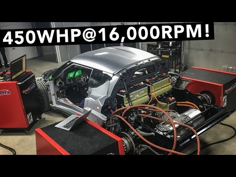 Tesla Motor Is In & Makes Big Power! - Lotus Evora Electric Car Project EP03