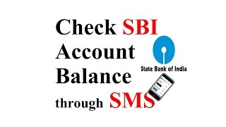 How To Check SBI Account Balance by SMS - Hindi/Urdu