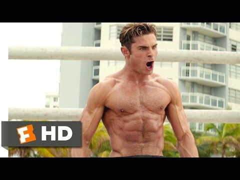 Baywatch (2017) - The Big Boy Competition Scene (2/10) | Movieclips