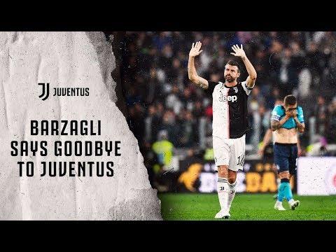 #GRAZIEBARZA   Andrea Barzagli says goodbye to Juventus