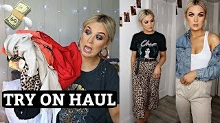 TRY ON CLOTHING HAUL | ASOS, PrettyLittleThing, Nasty Gal & more | Hannah Ferguson