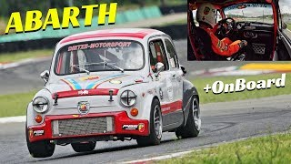Fiat Abarth 1000 TCR by Harald Dietze - Abarth Track Day at Varano de' Melegari - Actions + Onboard!