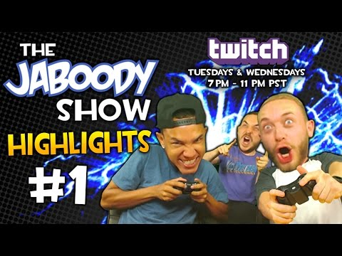 The Jaboody Show Twitch Highlights #1 Heretic & ...Mask?
