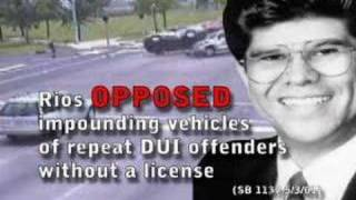 Pete Rios: Standing up for Drunk Drivers Everywhere