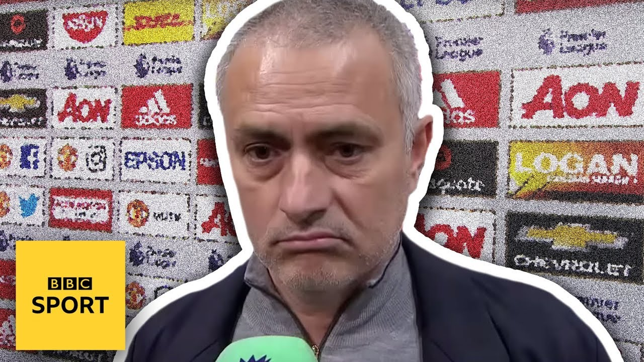 Jose Mourinho WALKS OUT of BBC interview 
