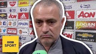 Jose Mourinho WALKS OUT of BBC interview - BBC Sport