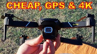 Low Cost Smart GPS Drone with 4K Camera - Eachine E520S Smart FPV Quadcopter FULL REVIEW