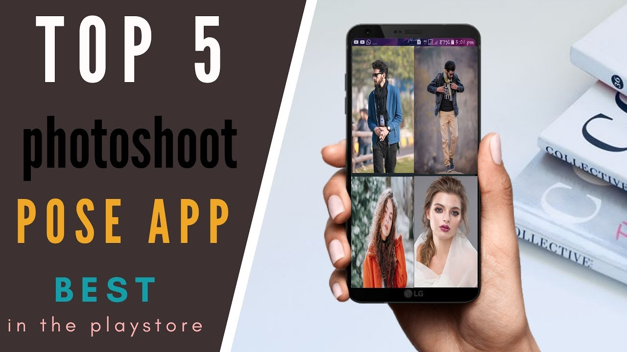 Top 5 photoshoot pose app /best app in every time
