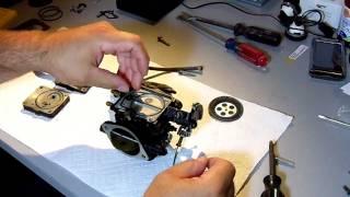 how to rebuild a pwc mikuni keihin carburetor part 2
