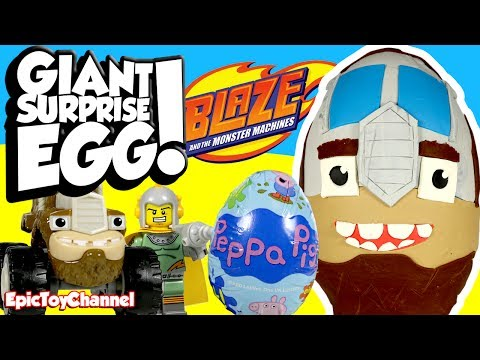 Thumbnail: SURPRISE EGGS! Blaze and the Monster Machines & Paw Patrol Nickelodeon Surprise Toys for Kids