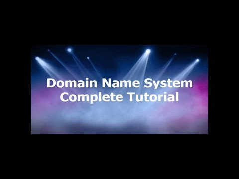 DNS Tutorial | Domain Name System Tutorial in detail