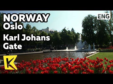 【K】Norway Travel-Oslo[노르웨이 여행-오슬로]칼요한스거리/Karl Johans Gate/National Theater/Park/Norway Palace/Garden