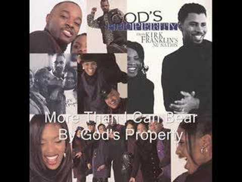 More Than I Can Bear By Kirk Franklin